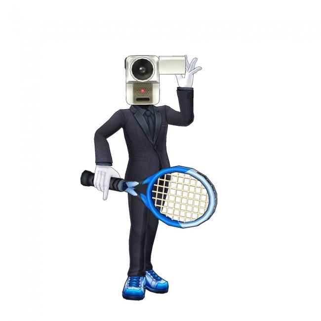 「NO MORE映画泥棒」と『白猫テニス』の異色のコラボ決定!