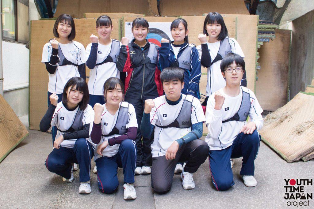 VOL.28 別府溝部学園高等学校(大分県) アーチェリー部