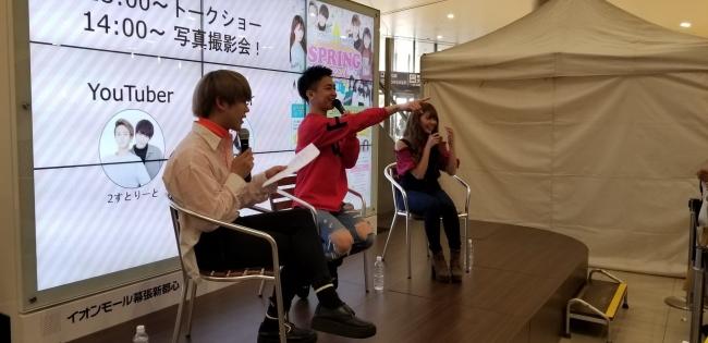 『今日好き』で人気の「りのちぃ(市川莉乃)」と、人気上昇中イケメンオネェYouTuber「2すとりーと」がオフラインイベントを開催!