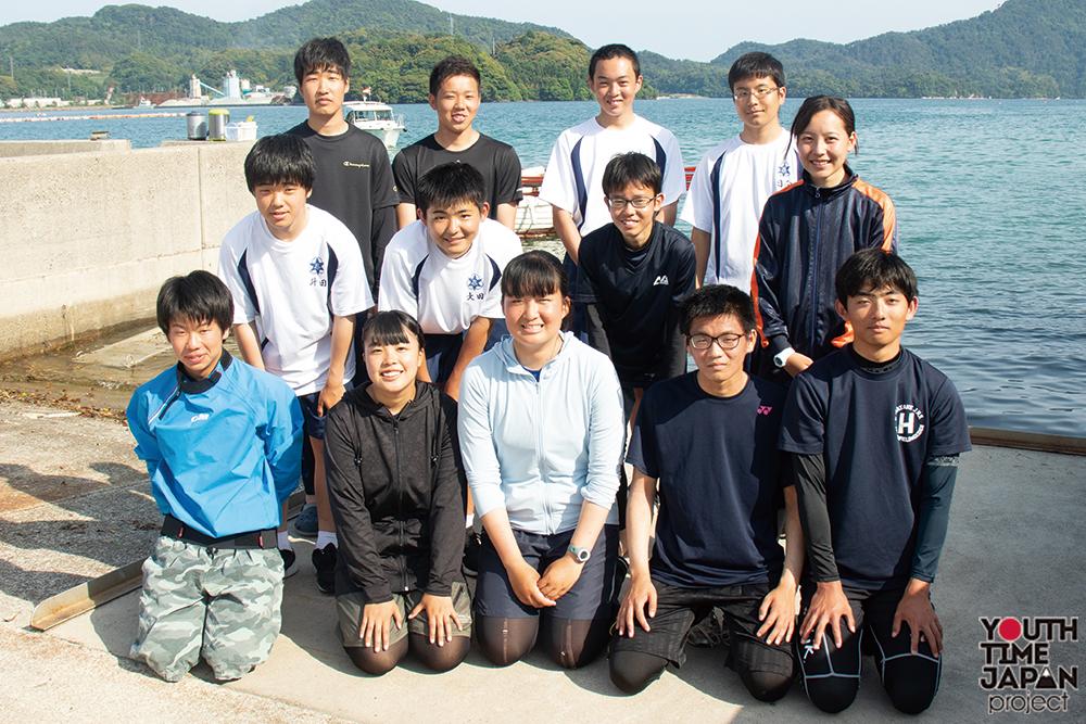 VOL.32 島根県立隠岐水産高等学校 ヨット部