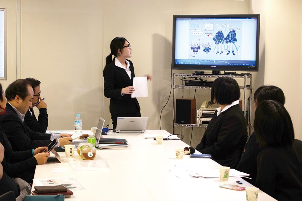 【バンタンゲームアカデミー高等部】キングレコード×バンタンゲームアカデミー高等部 産学連携「メーラロイド」キャラクター開発