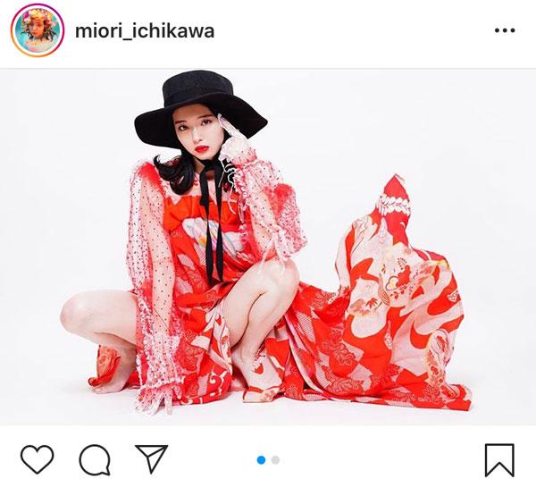 市川美織、ハイカラセクシーなファッションポートレートに釘付け!「とっても綺麗」「大人の雰囲気ですね」