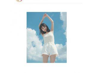 伊原六花、青空をバックに健康的な美スタイル披露!「弾ける白だね」「透明度が凄い」とファン絶賛!!