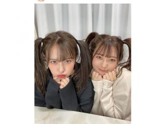 山田菜々&山田寿々、「最強ツインテール」な姉妹2ショット公開!「高めのツインは北川謙二のMV以来かも」