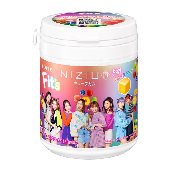 NiziUが初のガム商品開発に協力!NiziUパッケージの商品を発売!
