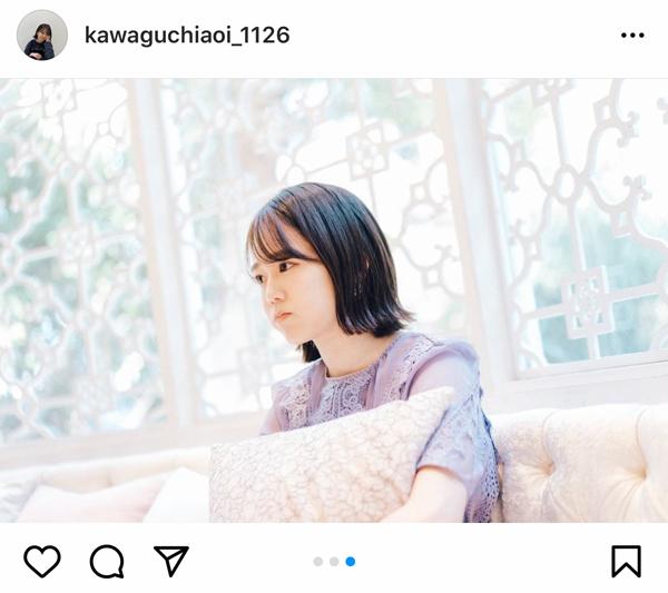 川口葵、恋とオオカミには騙されないのスチル写真を公開!「なんやこの透明感」