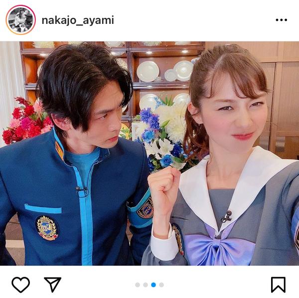 中条あやみ、「ゴチ」共演の松下洸平や岡村隆史らとの集合写真を公開!