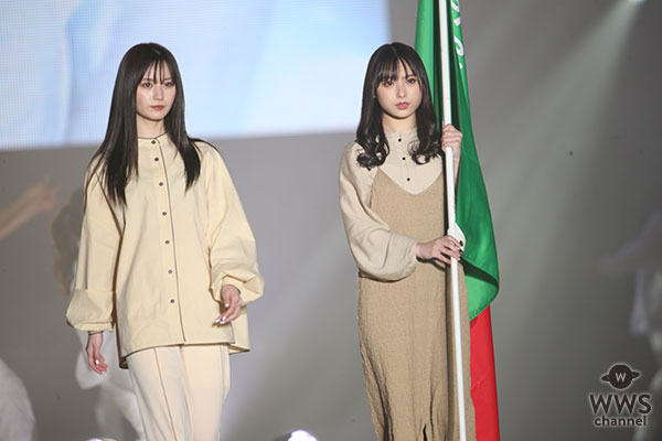 NMB48・梅山恋和、山本望叶が関西コレクション2021 S/S ランウェイに登場!