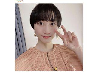 松井玲奈、髪型がきのこヘアに「順調に伸びています」