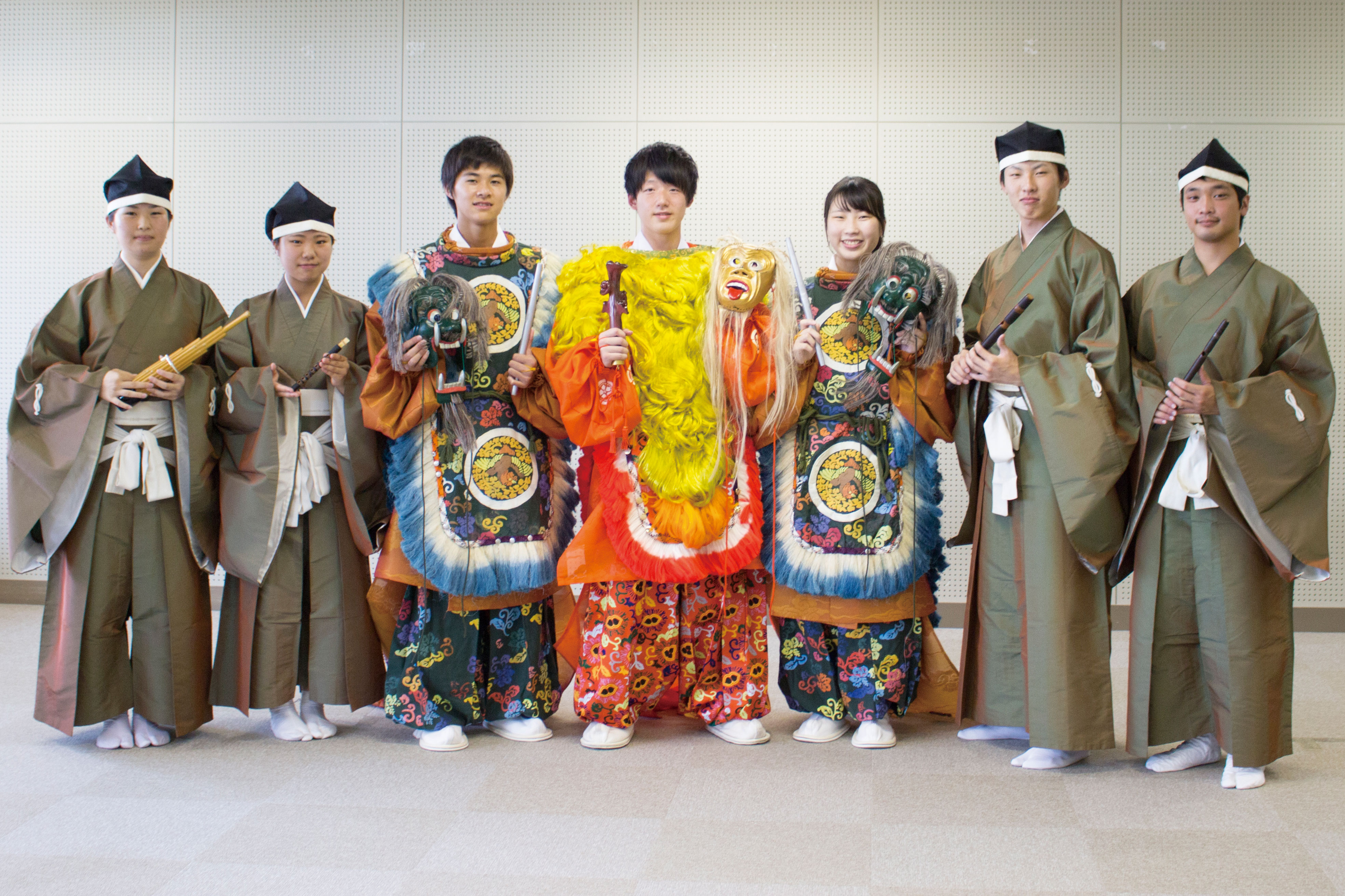 Spotlight VOL.13 天理教校学園高等学校(奈良県) 雅楽部