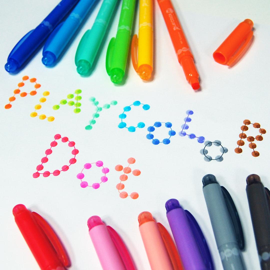 『プレイカラードット』トンボ鉛筆