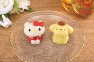"""可愛すぎてため息(ノД`)?ハローキティとポムポムプリンの""""和菓子""""がローソンで発売 ?"""