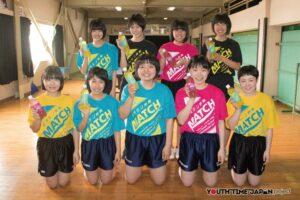 出雲西高等学校(島根県) 女子卓球部<BUKATSU魂。Supported by MATCH Season7>