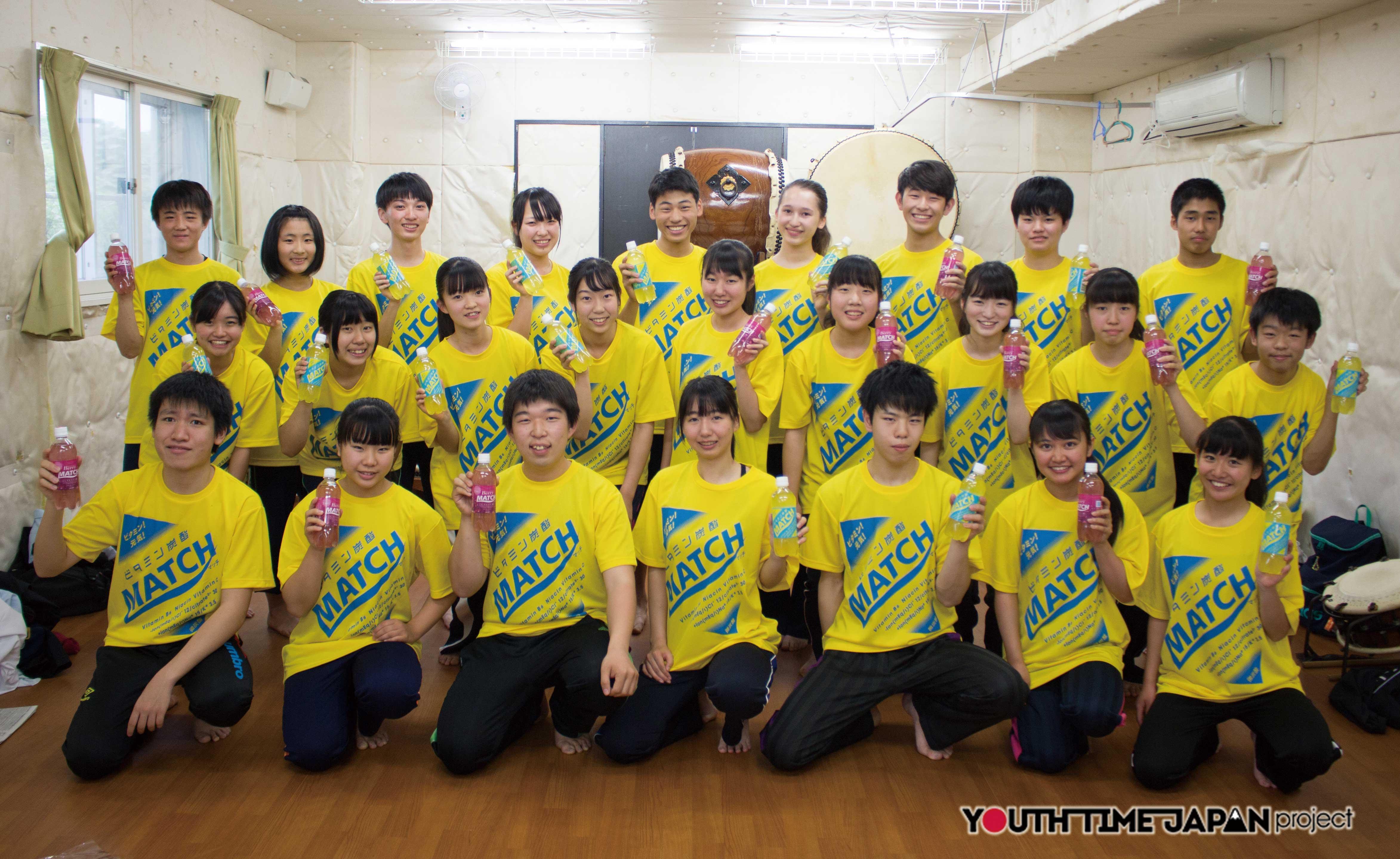岐阜聖徳学園高等学校 和太鼓部<BUKATSU魂。Supported by MATCH Season7>