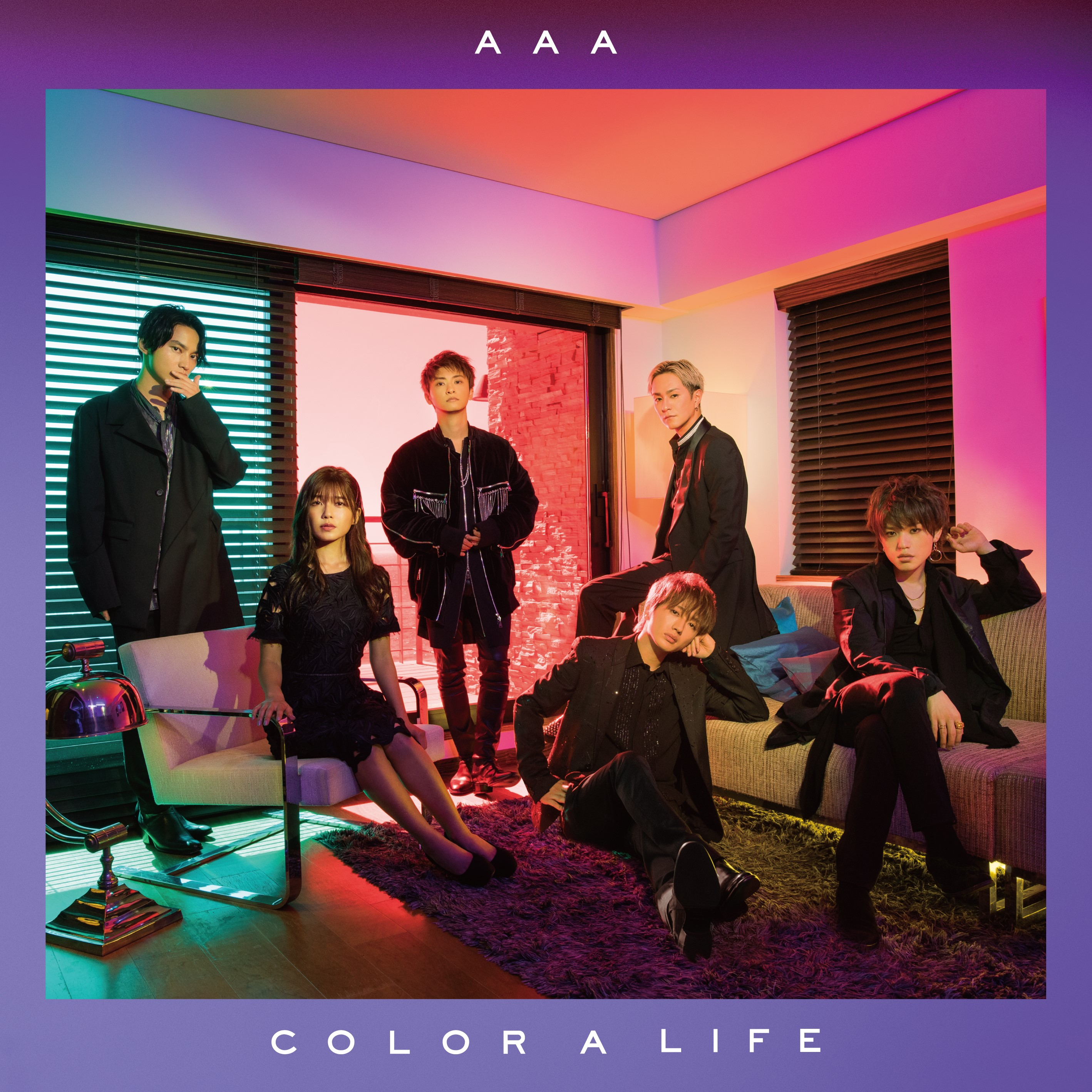『COLOR A LIFE』AAA