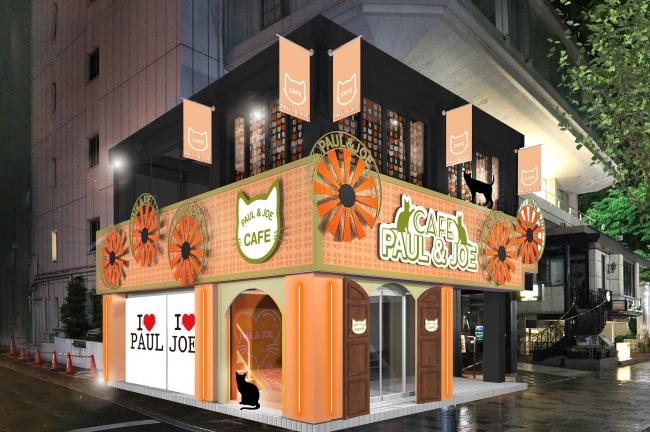 大人気のコスメブランド「PAUL & JOE BEAUTE」期間限定ポップアップストア『PAUL & JOE Neko Café』
