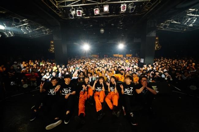J☆Dee'Z、Music Athleticで激しすぎるパフォーマンスでワンマンツアー完走!