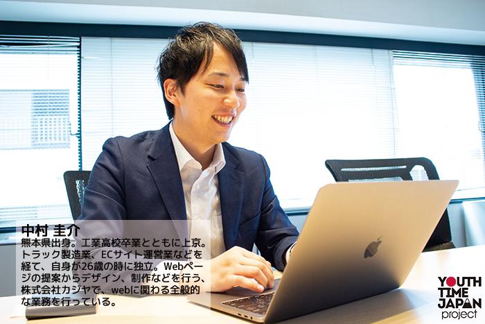 Worker's file VOL.3 Webプランナー 中村 圭介