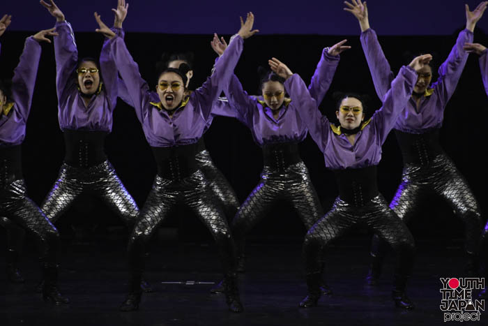 東京都立狛江高等学校が演技を披露!<第12回日本高校ダンス部選手権DANCE STADIUM>
