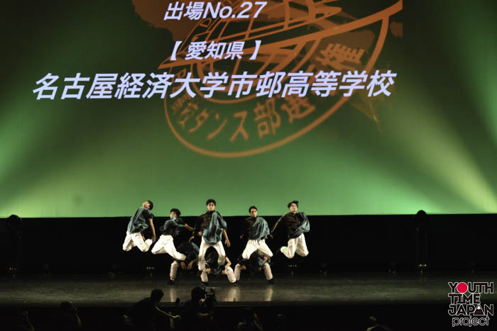 名古屋経済大学市邨高等学校が演技を披露!<第12回日