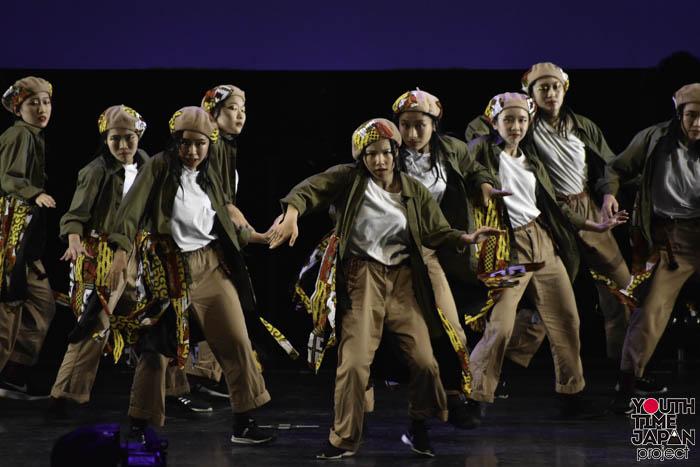 朋優学院高等学校(東京都)が演技を披露!<第12回日本高校ダンス部選手権DANCE STADIUM>