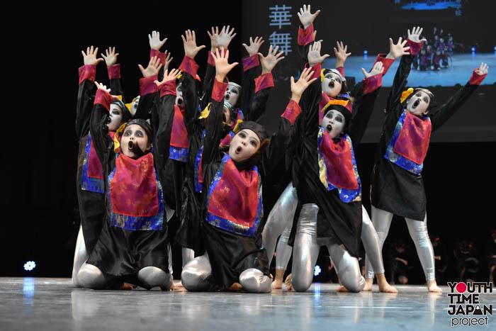 【大阪府立春日丘高等学校】華舞(はなのまい)のテーマでダンスを披露!<第7回 DANCE CLUB CHAMPIONSHIP>