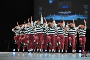 【北九州市立高等学校】黄臭(ファンク)のテーマでダンスを披露!<第7回 DANCE CLUB CHAMPIONSHIP>