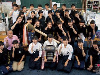 VOL.34 長野県松本蟻ヶ崎高等学校 書道部