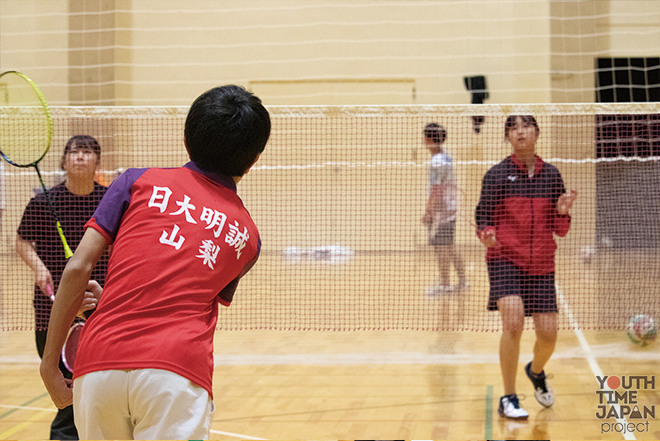 BUKATSU魂。Supported by MATCH Season8 日本大学明誠高等学校(山梨県)バドミントン部