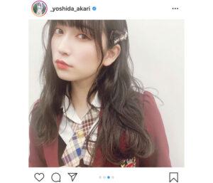 NMB48 吉田朱里が黒髪にイメチェン!「お人形さんみたい!」と大絶賛
