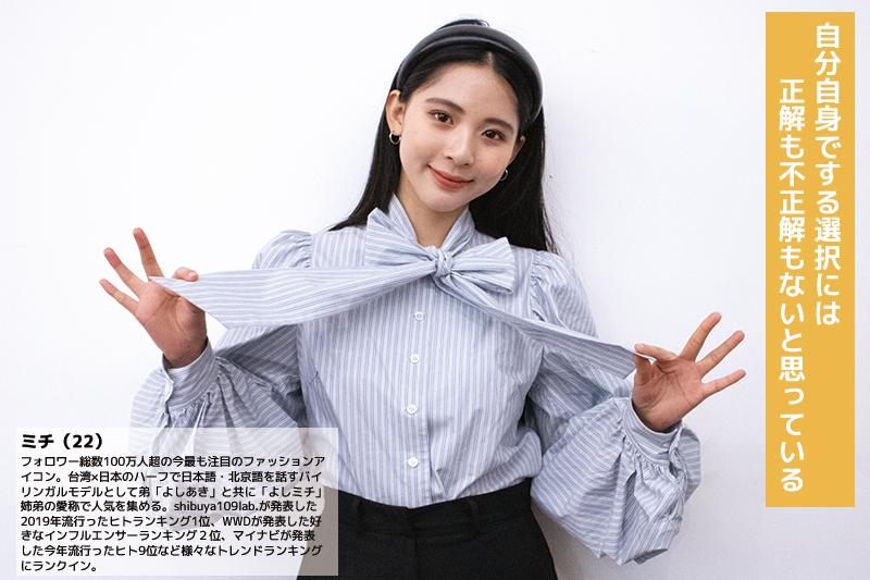 Youth voiceーモデル・タレント ミチ(22)