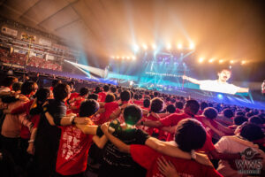 "UVERworld、日本最大規模となった""男祭り""がいよいよWOWOWで放送!興奮必至のダイジェスト映像も公開"
