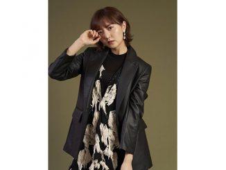 "HKT48 森保まどか、レザーコートを羽織った""強め""コーデに「間違いなく最強ですわ…」"