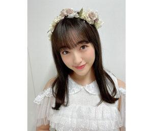 HKT48 田島芽瑠、大人しめの髪色イメチェンに好評!