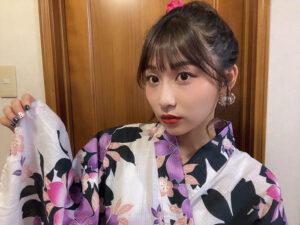 SKE48 青海ひな乃、夏の終わりに浴衣姿で思い出作り