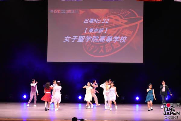 女子聖学院高校(東京都)が演技を披露!<第14回日本高校ダンス部選手権DANCE STADIUM>