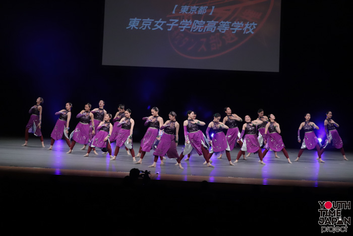 東京女子学院高校(東京都)が演技を披露!<第14回日本高校ダンス部選手権DANCE STADIUM>