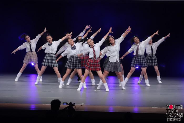 東京都立葛飾商業高校(東京都)が演技を披露!<第14回日本高校ダンス部選手権DANCE STADIUM>