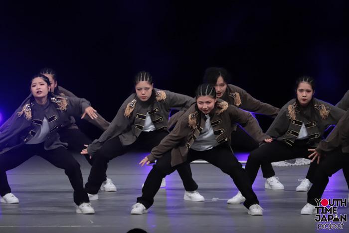 東京都立小川高校(東京都)が演技を披露!<第14回日本高校ダンス部選手権DANCE STADIUM>