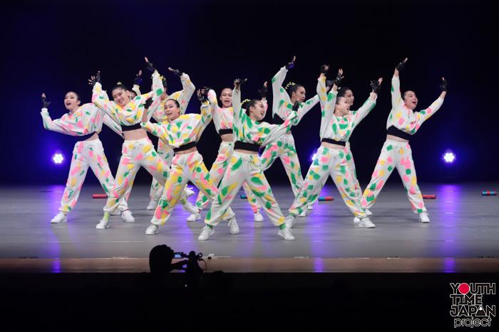 東京都立日野高校(東京都)<第14回日本高校ダンス部選手権DANCE STADIUM>