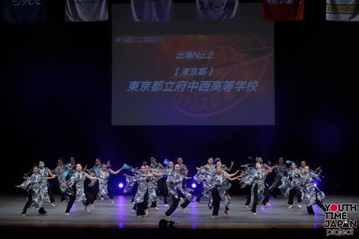 東京都立府中西高校(東京都)が演技を披露!<第14回日本高校ダンス部選手権DANCE STADIUM>