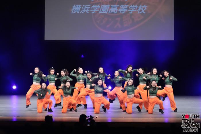 横浜学園高校(神奈川県)が演技を披露!<第14回日本高校ダンス部選手権DANCE STADIUM>