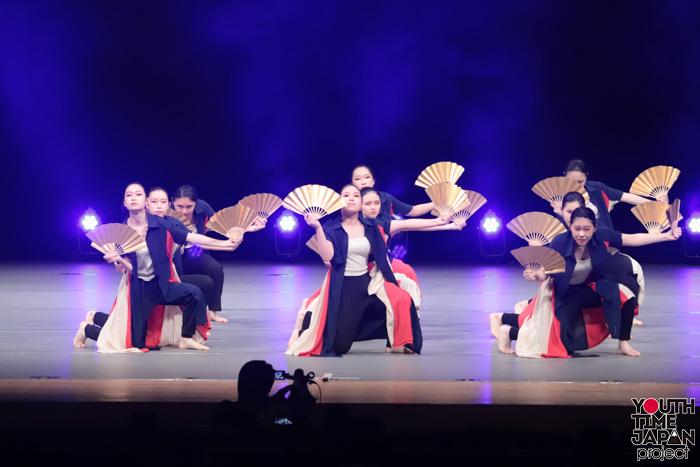 東京都立深川高校(東京都)が演技を披露!<第14回日本高校ダンス部選手権DANCE STADIUM>