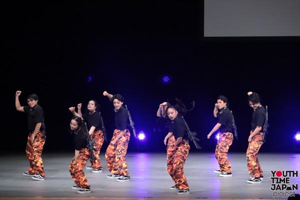 東京都立淵江高校(東京都)が演技を披露!<第14回日本高校ダンス部選手権DANCE STADIUM>