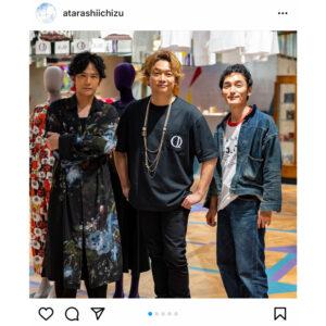 稲垣吾郎、草彅剛、香取慎吾がヤンチェの新店舗でスリーショットを披露!「素敵です」