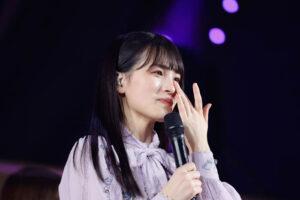 乃木坂46 大園桃子がラストライブを完走「この5年間は本当に宝物です」