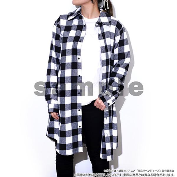 TVアニメ『東京リベンジャーズ』のマイキーの服をイメージしたロングシャツが、『animate LIMITED SELECTION』から受注生産で全国アニメイト・アニメイト通販にて8/31より予約開始!