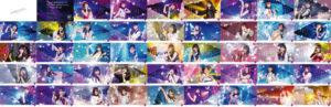 『乃木坂的フラクタル』乃木坂46結成10周年を記念した全長約150m、総枚数45枚の大型広告が 乃木坂駅に登場!新宿駅及び屋外ビジョン広告でのTVCM映像を放映中!