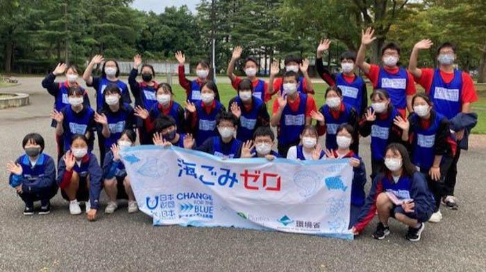 『スポGOMI甲子園・石川県大会』を開催。金沢の中心で海への愛を叫ぶ! 雨上がりの四高記念公園で集めたごみは45(しこう)kg