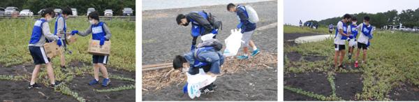 『スポGOMI甲子園・静岡県大会』を開催 激闘を制したのは「U-18ゴミ拾い日本代表」チーム。当日は参加者全48人で、40.73Kgのごみを集める!